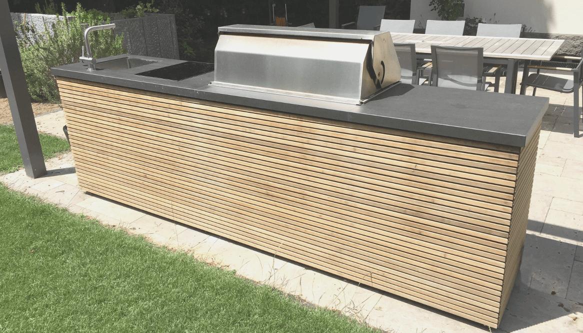 Outdoor Küche Balkon : Outdoor küche auf balkon wandfarben für küche weiß granit matt