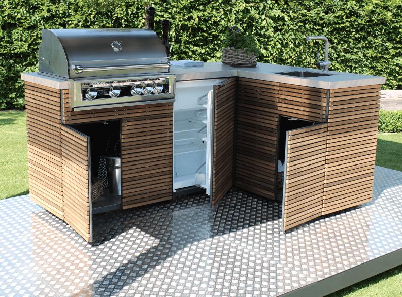 Outdoor Küche Balkon : Outdoor küche wpc küchenrondell klemmt